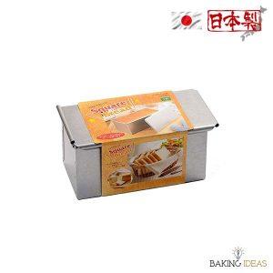 【烘焙工具】長方形麵包模 (連蓋) - 日本Cakeland
