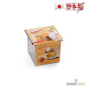 【烘焙工具】正方形麵包模 (連蓋) - 日本Cakeland